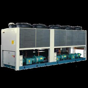 Tổ máy làm lạnh nước TRỤC VÍT bằng gió